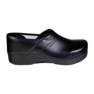 Danclog E2380 Closed Heel Clog PU Flex Zwart
